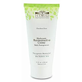 Hylunia Hyaluronic Reconstructive Creme with Pomegranate - 5.1 fl oz - Diabetic Skin Therapy - Rapid Skin Repair