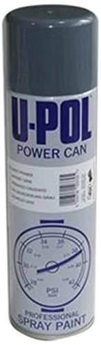 U-Pol Products 0804 Clear Lacquer POWER CAN Automotive Aerosol - 500ml