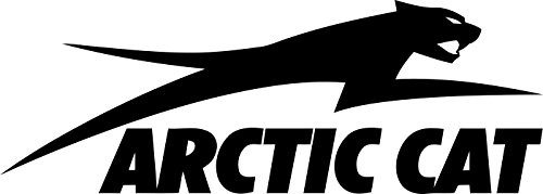 Jumping Arctic Cat Decal Sticker ()