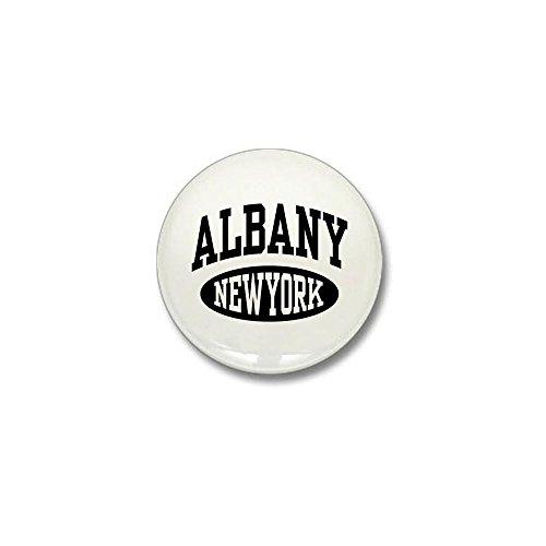 CafePress - Albany New York Mini Button - 1