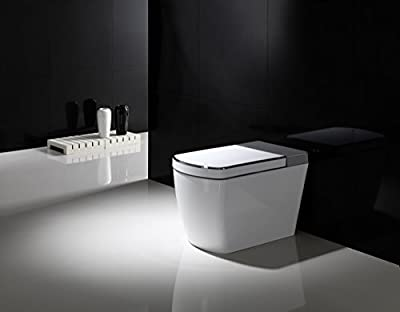 SYSINN SL600 Auto-open,Auto-close,Washer Heating,Cushion Heating,Radar Detect Smart 1-Piece Toilet Set