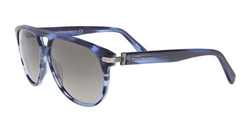 Ermenegildo Zegna EZ0043/S 91B Blue Round Sunglasses for sale  Delivered anywhere in USA