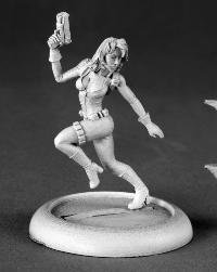 Natalia Female Secret Agent Chronoscope Miniature by Reaper
