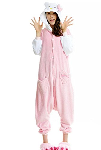 Blu Cosplay Adulto Pyjama Unisex Padgene Animali Halloween Travestimento Uomo Gattino Donna piccolo Tq4XHzwx