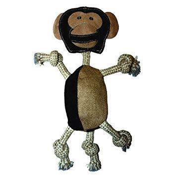 Aussie Naturals Wiggly Family of Animals Dog Toy Monkey