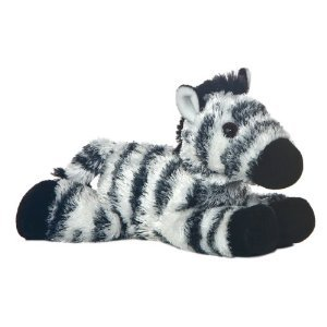 Aurora Zany Zebra 8 Mini Flopsie Plush by Aurora