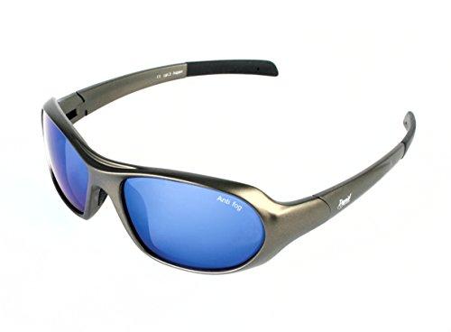 Aspen  argent-gris LUNETTES DE SOLEIL DE SPORTS EXTRÊMES avec verre bleu. 6781fe5ba3b9