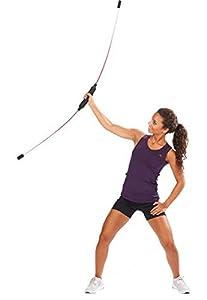 Body Stick Aerobic Bar Fitness Stick Schwungstab Swing Stab, Farbe rot