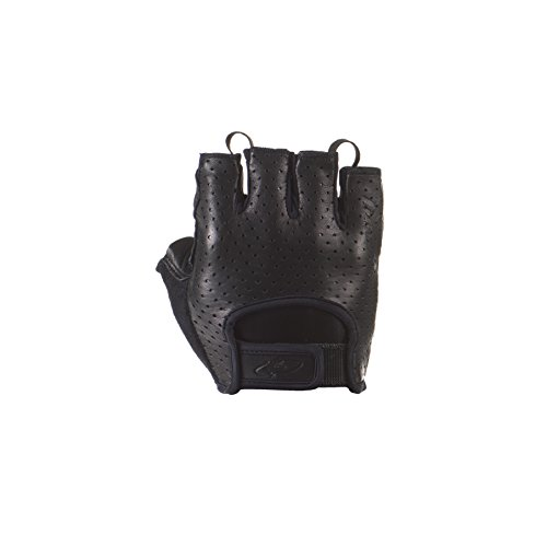 Fingered Cycling Glove - Lizard Skins Aramus Classic Short fingered gloves Black L