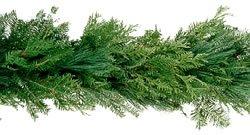 Amazon Com Fresh Christmas Garland Made Of Balsam And