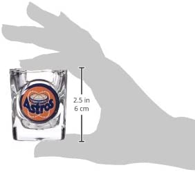 Great American Products MLB Four Piece Square Shot Glass Set