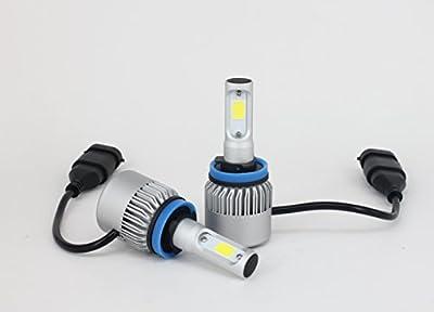 Urange COB H11/H9/H8 H4 Hi/Lo H7 H1 9006 9005 Automotive Car Motorbike Motor Bright Led Headlights 6000K Cool White 8000LM FogLight High Low Beam Headlamp