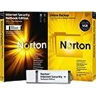 Norton Internet Security 2010 3 User Netbook Edition (Usb Drive) & Norton Online Backup 2.0