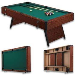 Atlas 7u0027 Portable Pool Table ...