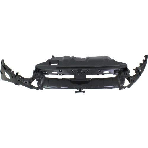 - Radiator Support Cover Compatible with FORD FOCUS 2012-2014 Textured Black Hatchback/Sedan