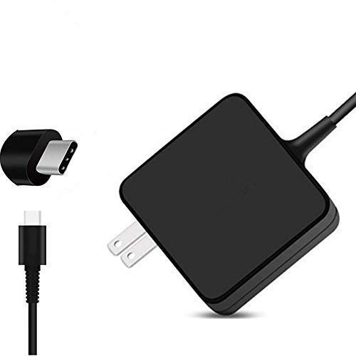 65W USB Type C Power Adapter for Apple MacBook/Pro, Lenovo, ASUS, Acer, Dell, Xiaomi Air, Huawei Matebook, HP Spectre, Thinkpad,13 Inch Nintendo Switch and Other Laptops or Smart Phones with USB C