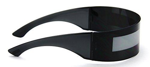 e737e6aeda1 Jual Futuristic Shield Sunglasses Monoblock Cyclops 100% UV400 ...