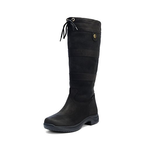 Image of the Dublin Women's River Tall Equestrian Boot Black 8 US