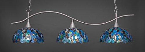 Concord Ceiling Pendant - Filament Design Concord 3 Light Ceiling Brushed Nickel Incandescent Island Pendant
