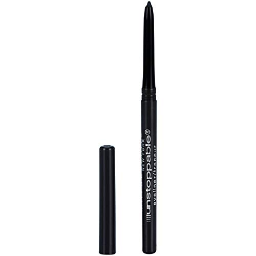 Maybelline New York Unstoppable Eyeliner, Onyx, 0.01 oz. (Best Liquid Foundation Allure)
