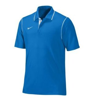 Nike Gung-Ho Mens Polo (Large, Royal/White)