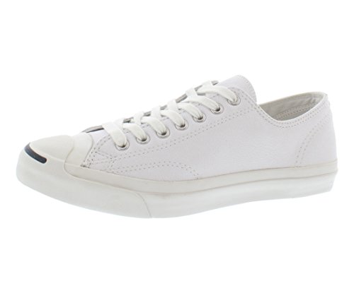 Used, Converse Jack Purcell Leather Fashion-Sneakers, White, for sale  Delivered anywhere in USA