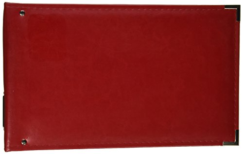 We R Memory Keepers Real Red Classic Leather 12x8 Ring Album