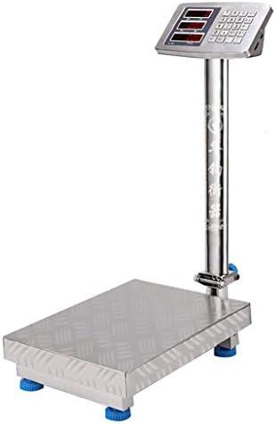 WCX Industriellen Waage Industriewaage Plattformwaage Wägeplatte Paketwaage mit Plattform (Farbe : B, größe :...