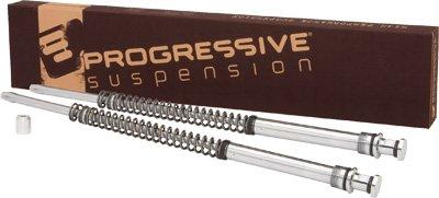 Fork Classic Progressive (Progressive Suspension Monotube Fork Cartridge Kit Lowering Tube For Harley-Davidson Softail 2000-2012 - 31-2504)