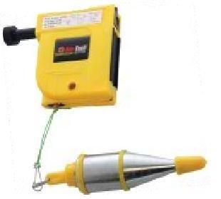 Magnetic Plumb Bob & Line 400g Plumbers Decorators Tool by Amtech