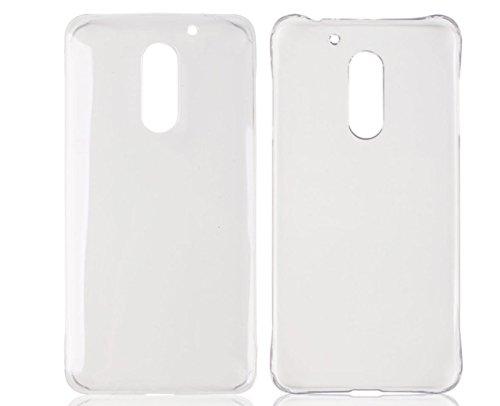 PREVOA® Transparent Hard Plastic PC Funda Carcasa Case para UMI Super/UMI MAX 5,5 Pulgadas Smartphone - Transparent