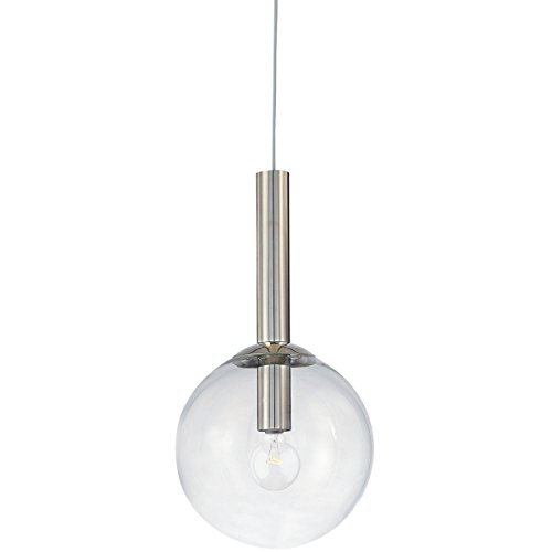 - Sonneman 3761-35 One Light Pendant, Silver