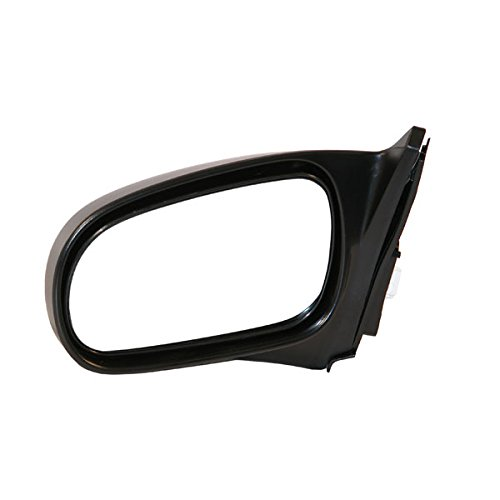 1996-2000 Honda Civic HX, EX, SI 2-Door Coupe Power Black Fixed Non-Folding Rear View Mirror Left Driver Side (1996 96 1997 97 1998 98 1999 99 2000 00)