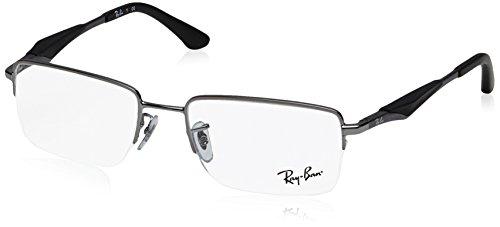 Ray-Ban Men's RX6285 Eyeglasses Gunmetal - 2502 Ban Ray