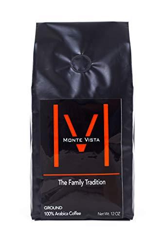 - MONTE VISTA CRAFT COFFEE - Honduran Specialty Coffee-MICRO-BATCH ROAST-Medium dark Roast, STRICTLY HIGH GROWN with floral notes and CHOCOLATE FINISH! 12oz