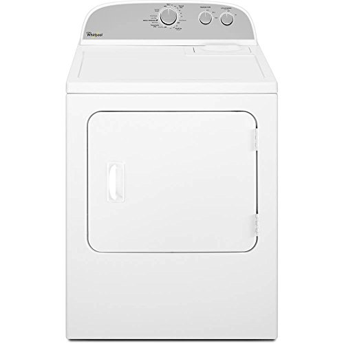 WHIRLPOOL WASHERS & DRYERS 284186 7.0 cu.ft. Front Load Gas Dryer, White, 14 Drying Cycles