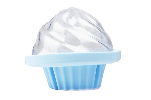 Cupcake Bath Bomb Mold Silicone & Plastic- Make Bath Bomb Cupcake Easy- by Ian's Choice (1 Sets)