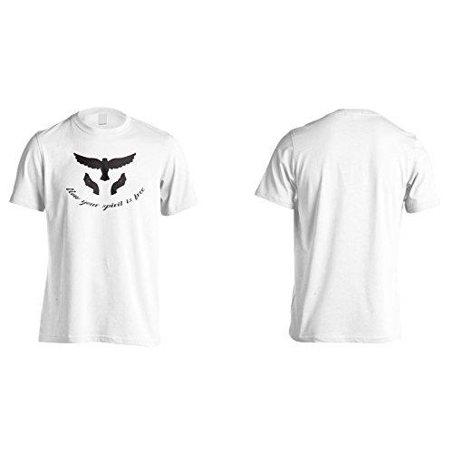Jetzt Ist Dein Geist Frei Schwarz Herren T-Shirt n573m