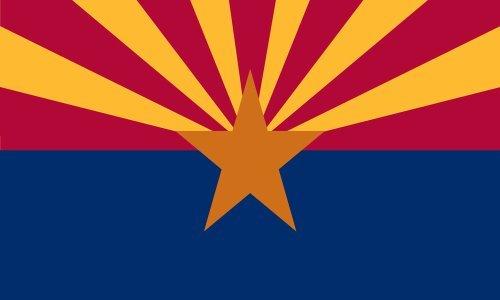 3' x 5' 3x5 FT AZ Arizona Flag SolarMax Nylon US Made ()