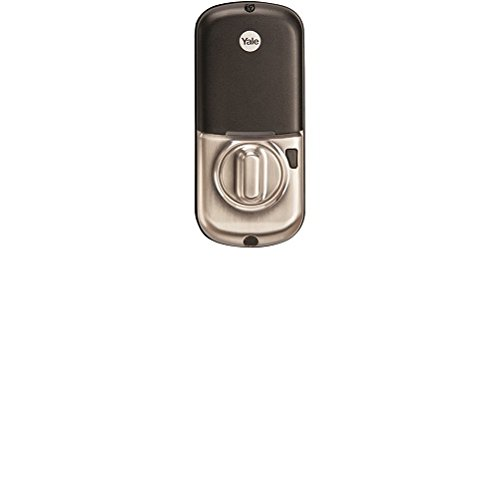 Yale Z-Wave Real Living Key Free Touchscreen Deadbolt, Works with Amazon Alexa via SmartThings, Satin Nickel, YRD240-ZW-619