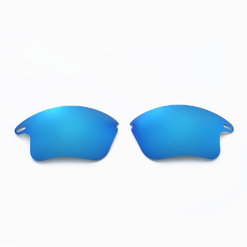 397a2ccdce New Walleva Polarized Fire Red + Ice Blue Lenses For Oakley - Import It All