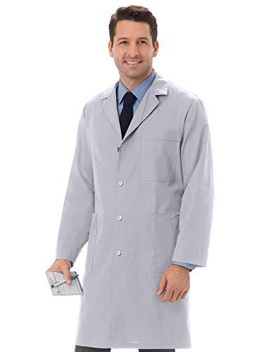 Meta 6116 Unisex Lab Coat Silver XL
