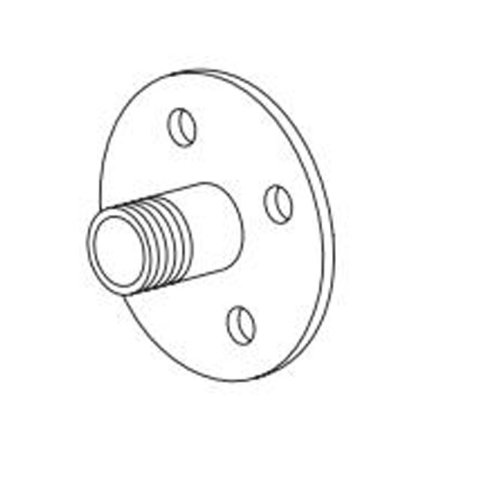 Toto THP4081 No Finish Universal Mounting Plate with O-Ring Rainshower by TOTO