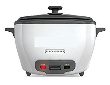 Black+Decker RC5225 22-Cups 700-Watt Rice Cooker, 220 Volts (Not for USA)