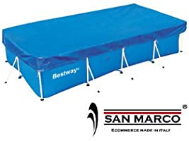 Bestway 58231-Lona protectora para piscina cubierta Bestway ...