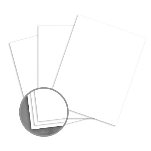 Loop Smooth Pure White Paper - 8 1/2 x 11 in 24 lb Writing Smooth 30% Recycled 500 per Ream Pure White 24 Lb Writing