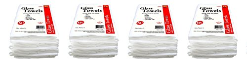 Galaxy Glass Cleaning Towels, 18-Pack GT18 (4-(18-Pack)) by Galaxy Products