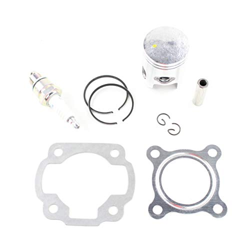 Standard Bore Pistons - Niche Industries Standard Bore Piston Gasket Ring Kit for 2002-2011 Yamaha Zuma YW50