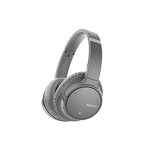Fones de Ouvido Bluetooth Sem Fio Sony WH-CH700N com Cancelamento de Ruído, Cinza