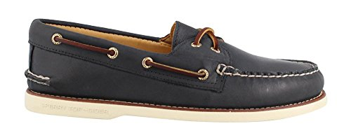 Sperry Menns, Gull Cup Autentiske Opprinnelige Båt Sko Navy Multi 10,5 W